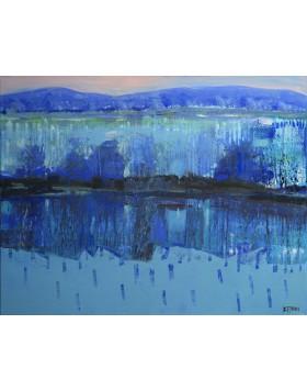 """""""Rzeka przepływa prze mnie""""- Obraz nr 126"""
