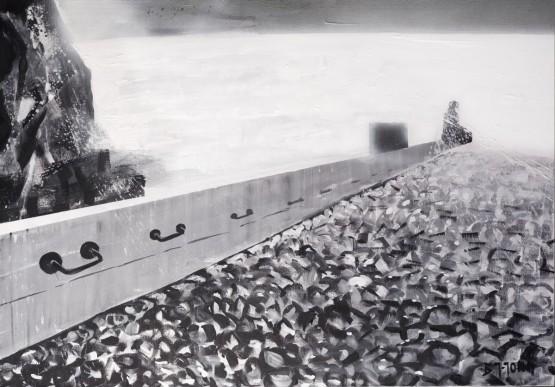 """""""Przez ocean przejdę do Ciebie""""- Obraz nr 141"""