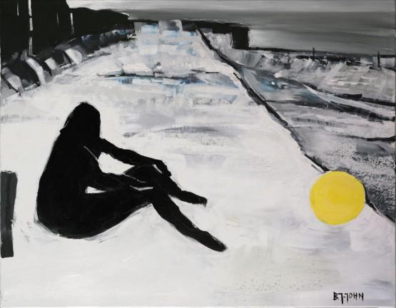 """""""Przerzucam piłkę przez ocean"""" obraz nr 144"""