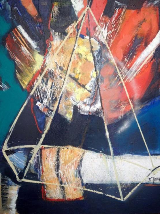 """""""Kobieta w diamencie"""" - Obraz 74"""