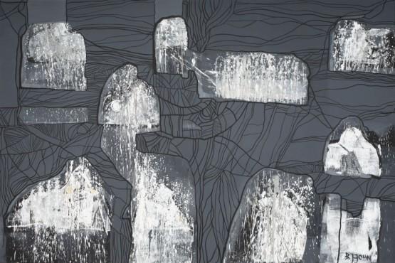 Zamieniony w skałę poruszam ustami.- Obraz nr 2054 (155)