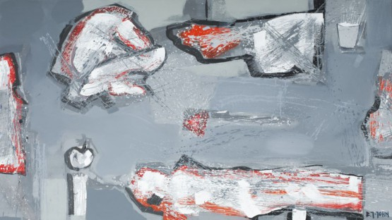 Cykl Pompeje, Tytuł –Nad zamyśleniem czasu nad wirowaniem pyłu.. .- Obraz nr 2060/1 (150)