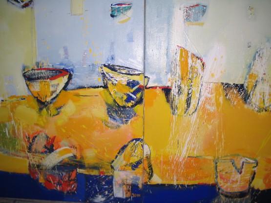""""""" Żółty stół"""" - Obraz 4"""