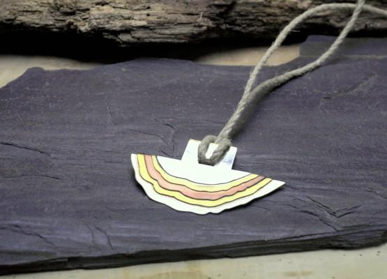 Naszyjnik Srebro Mosiądz Miedź Alpaka nr kat 22