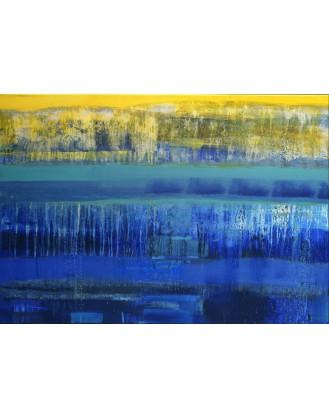 """""""Rzeka w uśpieniu przemija""""- Obraz nr 127"""