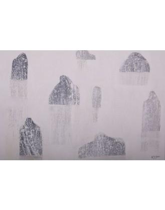 Utonęli w mleczny puch w oplot dłoni zachwyt ciał tylko cień u stop im drżał.- Obraz nr (157)